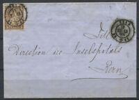 Schweiz 1865 Gestempelt 100% Helvetia sitzend, 5 C