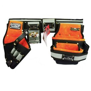 WorkGearUk Tool Belt with Drill Holster and Pouch WG-PX19