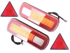 2x LED Heckleuchte dynamische Blinker Richtungsanzeigelampe LKW Dreieck
