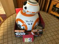 """3 BRIAN HERRING (RARE) AUTHENICATED AUTOGRAPHED """"STAR WAR"""" BB-8 ARTIFACTS"""