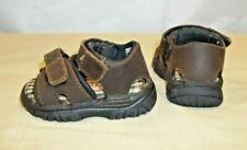 McKids Toddler Boys Sandals Size 3 Sports Style Leather Brown