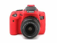 Camera silicone cover for Canon EOS 750D(EOS REBEL T6i)  Red