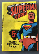 SUPERMAN 1965 Topps Unopened Packet Scarce