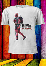 9631855dfb2d70 Deadpool Bad Smart Great As  T-shirt Vest Tank Top Men Women Unisex 562