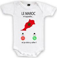 BODY GARÇON LE MAROC M/'APPELLE...