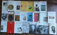 Important Lot 23 Livres Philosophie. Vintage Philosophy Books.