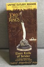 Elven Knife Of Strider 1/3 Scale Miniature, Lord Of The Rings, United Cutlery