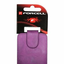 Housse Etui Coque Forcell Prestige Pour Samsung Galaxy i9100 S2 Violet