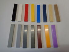 LEGO Plaque Lisse Carrelage 1x6 Plate Tiles with Groove (6636) choose color