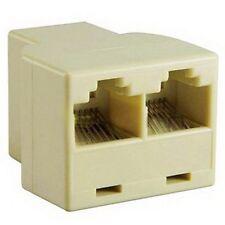 Cavo di rete RJ45 Y Joiner 2 Way Doppio Adattatore 3 porta Ethernet LAN Accoppiatore UK