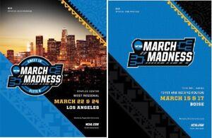 2018 MEN'S BASKETBALL PROGRAM SET BOISE + LOS ANGELES REGIONAL NCAA FINAL FOUR