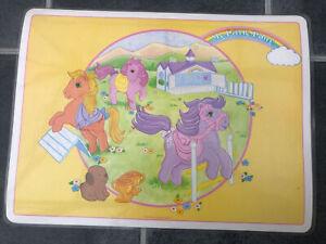 Vintage My Little Pony Place Mat 1984 G1 41cm X 31cm