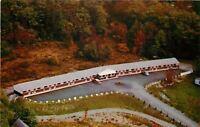 Bucksport Maine~Elmac Motel~Birdseye View~1950s Postcard