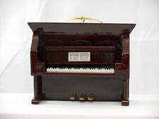 Brown Upright Piano Christmas Tree Ornament #BG130