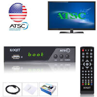 HDTV ATSC Digital Converter Box TV Recording Clear QamTV Tuner USB Media Player