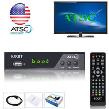Hdtv Atsc Digital Converter Box Usb Media Player Recording Pvr Hdmi Ch3 Tv Tuner