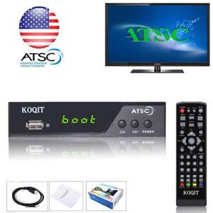 HDTV ATSC Digital Converter Box TV Recording Clear QamTV Tuner USB Media Player