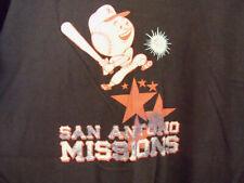 vintage SAN ANTONIO MISSIONS Ebbets Field Flannels Size L T shirt