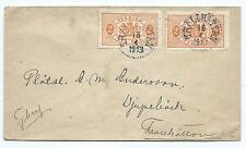 SWEDEN: Official local wrapper, Trollhättan 1913, scarce..