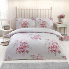 Linge de lit et ensembles rouges Á coton mélangé avec des motifs pois