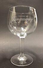 Tanqueray Gin globo de cristal vasos longdrink cóctel gin tonic copa cristal nuevo
