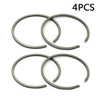 4pcs Yard Piston Ring Kit For Stihl FS45 FS75 FS80 FS85 34mm Bore Trimmer Part