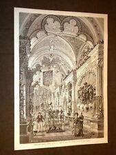 L'Esposizione italiana a Milano nel 1881 La sala d'armi nel Museo Poldi Pezzoli