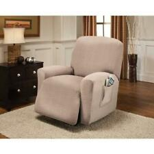 Sure Fit Stretch Pearson Recliner Slipcover in Brown