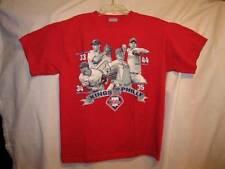 Kings Of Philly Philadelphia Phillies Mens Red Tshirt Size Medium Halladay (O)