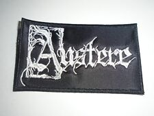AUSTERE BLACK METAL EMBROIDERED PATCH