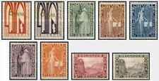 Timbres Religion Eglises Belgique 258/66 * lot 29405 - cote * : 90 €