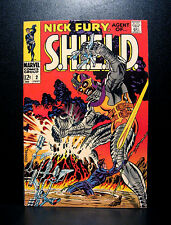 COMICS: Marvel: Nick Fury, Agent of SHIELD #2 (1968), 1st Centurius app - RARE