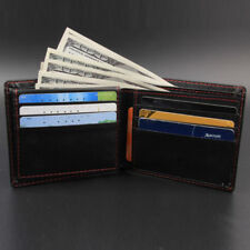 Männer Bifold Business Leder Brieftasche IDKreditkarteninhaber Geldbörse Taschen