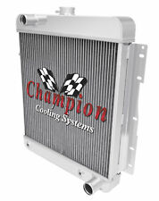 3 Row SZ Champion Radiator for 1958 Chevrolet Biscayne V8 Engine
