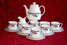 ROYAL DOULTON - TEA SET AND TABLEWARE LS1086 'AUTUMN'S GLORY 'ENGLISH BONE CHINA