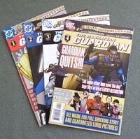 4 DC Comics The Manhattan GUARDIAN Seven Soldiers Set 1 to 4 2005 Excellent