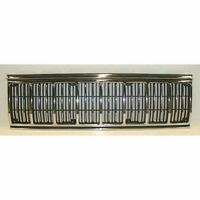 Chrome & Black Front End Grill Grille for Jeep Cherokee Comanche Pickup Truck