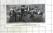 1908 Viceregal Party, Countess Liverpool, Aberdeen, Lady Haddo, Grace Ridley