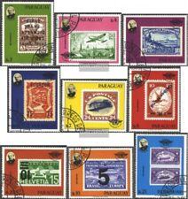 Paraguay 3174-3182 (edición completa) usado 1979 100. Muerte sir Rowland Hill