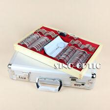 104 Trial Lens Case Optical Lens Set Metal Rim Alu. Case + Free Trial Frame