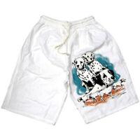 10 x Shorts ein Bein bedruckt Dalmatiner-Motiv Restposten B2B Posten Sonderpreis