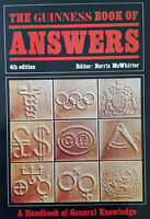 GUINNESS BOOK OF ANSWERS.4TH EDITION.1982.EXCELLENT CONDITION.NORRIS MCWHIRTER