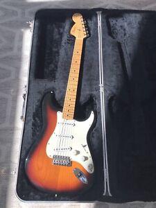 Fender American Voodoo Jim Hendrix Stratocaster & OHSC! Reverse USA Strat #56202