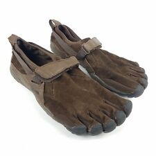 Vibram Fivefingers M241 Mens EUR 43 US 10 KSO Trek Brown Suede Leather Toe Shoes