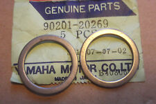 YAMAHA DT125 DT175 TY175 TY250 GENUINE FRONT WHEEL WASHER PLATES - # 90201-20269