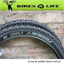 1 Pair Nobby NIC 26 X 2.35 Black Evolution Wired Tyres Plus Schrader Valve Tubes