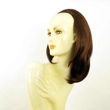 DT Half wig HairPiece extensions dark brown copper 15.7  REF :21/31