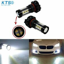 2x 5202 Ps24Wff Led Fog Light Bulbs Driving Lamp Factory 35W 6000K 4000Lm White
