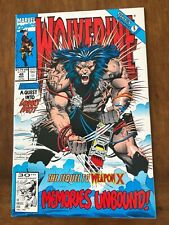 Marvel Comic Books Wolverine Issues #47-50 (1991) Weapon-X Excellent Copies