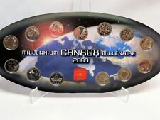 Year 2000 Millennium Collectors Set of 25 Cent Coins, Royal Canadian Mint